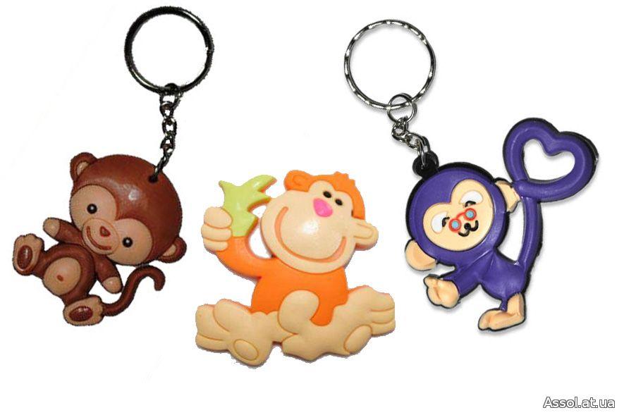 брелок обезьянка, символ года