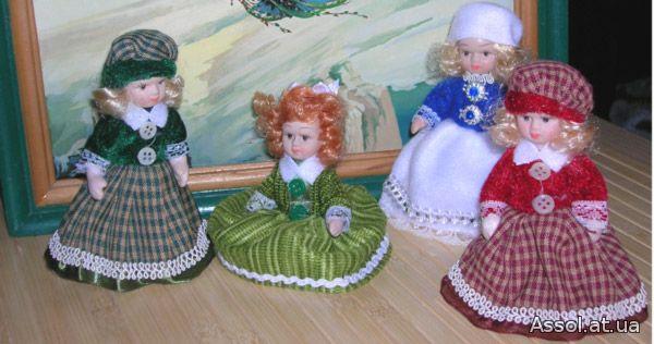 коллекционная кукла, дюймовочка