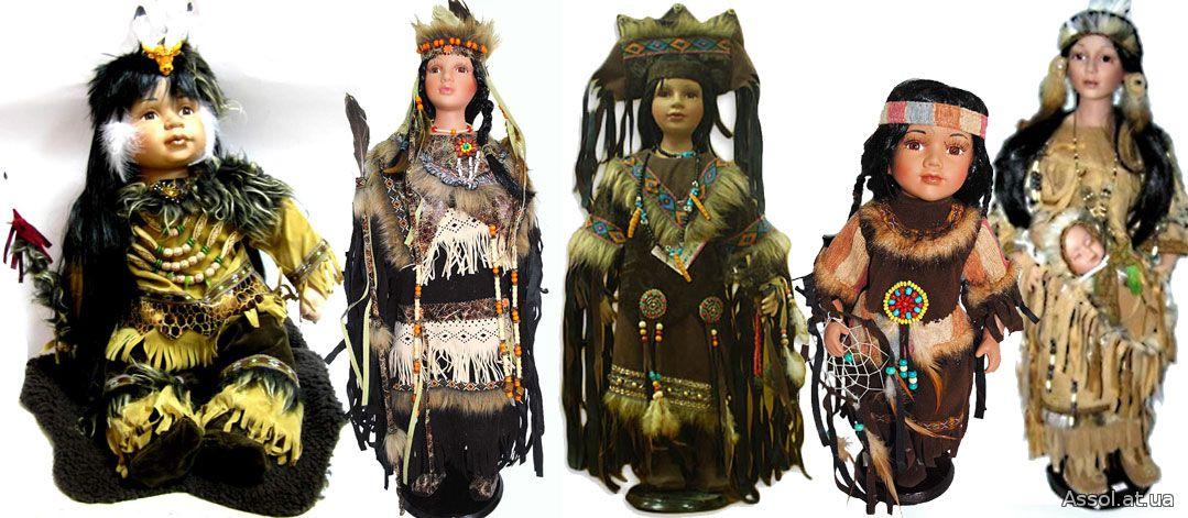 коллекционные куклы, индейцы