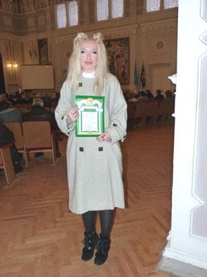 Победитель конкурса НТУУ КПИ Молодий викладач-дослідник Наталия Юдина