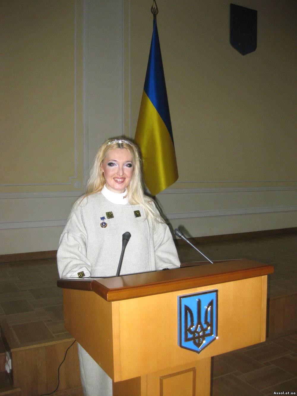 Наталия Юдина, лауреат Премии Президента Украины для молодых ученых, церемония вручения