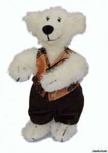 """Мишки Тедди с лого - корпоративная мягкая игрушка (""""Фабрика Решений """"Алые Паруса"""")"""