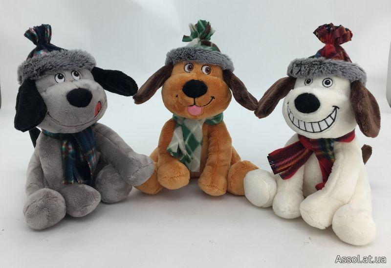 Год собаки, мягкие игрушки, корпоративные мягкие игрушки