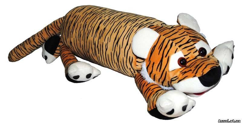 Игрушка-подушка тигр своими руками 50